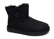 UGG MINI BAILEY BUTTON<br>noir