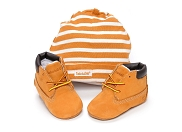 TIMBERLAND CRIB BOOTIE<br>marron