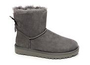 UGG MINI BAILEY BOW 2<br>gris