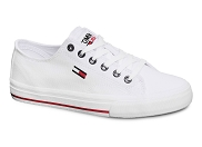 TOMMY HILFIGER TOMMY JEANS LOW CUT VULC 1351<br>blanc