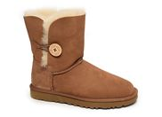 UGG BAILEY BUTTON 2<br>marron