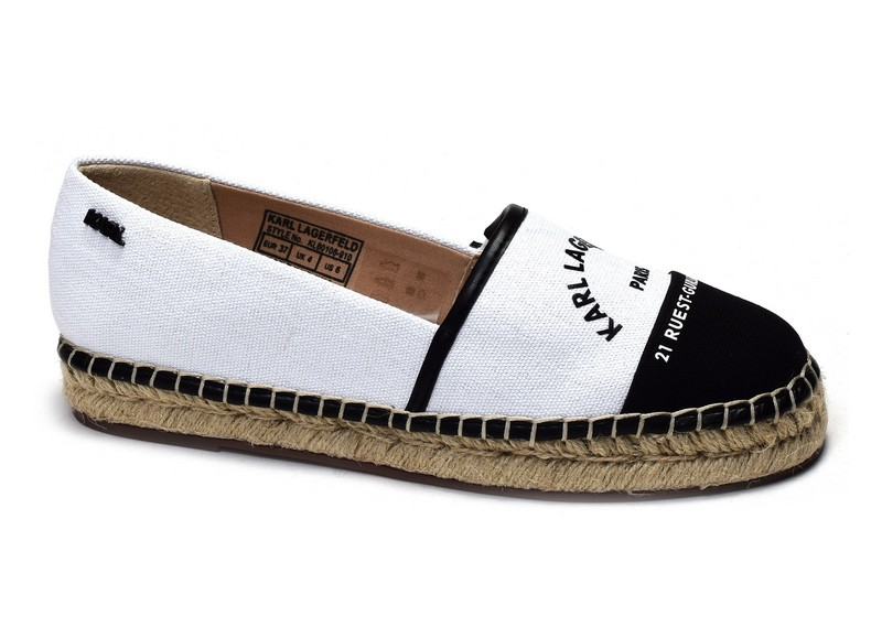 Karl lagerfeld chaussures espadrilles Kamini maison