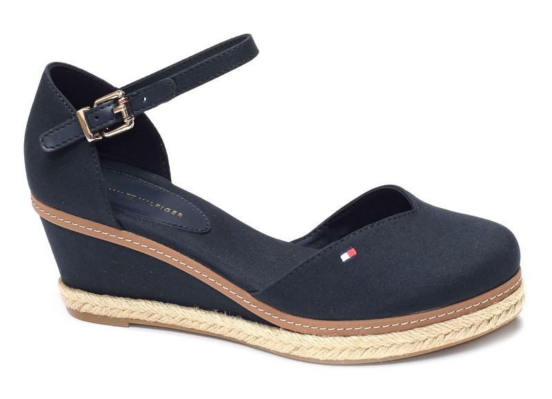 Tommy hilfiger sandales compensees Basic closed toe 4787